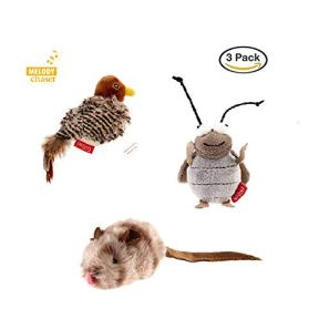 Gigwi-Interactive-Cat-Toys-Animal-Sound-BirdCricketMouse-Interactive-Squeaking-Cat-Toys-Melody-Chaser-Toys-for-Cats-to-Play-AlonePlay-N-Squeak-Kitten-Toy-for-Boredom