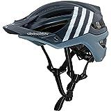 2018 Troy Lee Designs A2 MIPS Starburst Bicycle Helmet-Silver-XL/2XL