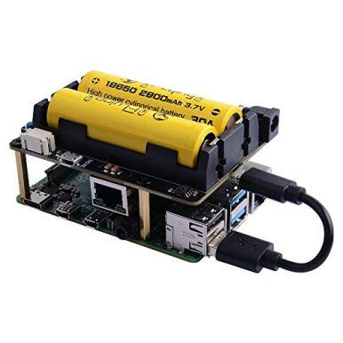 GeeekPi-X725-Power-Management-UPS-HAT-18650-Power-Safe-ShutdownWake-on-LAN-Expansion-Board-for-Raspberry-Pi-4B3B3B
