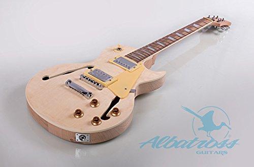 Albatross Guitars GK014 Semi Hollow Body Electric Guitar