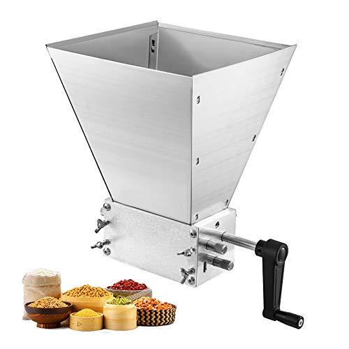 VEVOR-Barley-Grinder-Crusher-Stainless-3-Roller-Grain-Mill-Homebrews-Beer-Brewing-Manual-Grain-Crusher-Machine-for-Grains-Corn-Barley-Malt11LBS-Capacity