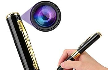 CAM 360 Spy Pen Camera 32GB Supportable Mini Hidden Camera with Photo & Audio/Video Recorder Multifunction Home Security with Rechargeable Built in Battery