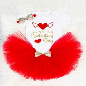 Valentine Personalised Outfit First Valentines day Girl Tutu Cake Smash Outfit unisex bodysuit CHOOSE COLOR! 41quku2hdKL