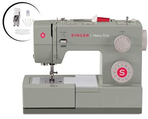 SINGER | Heavy Duty 4452 Sewing Machine with 110 Stitch Applications, Metal Frame, Built-In Needle Threader, & Heavy…