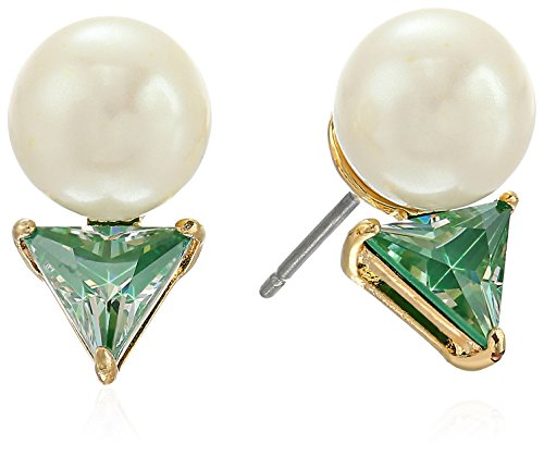 41qz5DsOt3L Items that are handmade may vary in size, shape and color CZ, faux pearl, gold plated metal