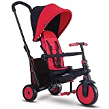 smarTrike Smartfold 300 Folding Baby Tricycle, Red