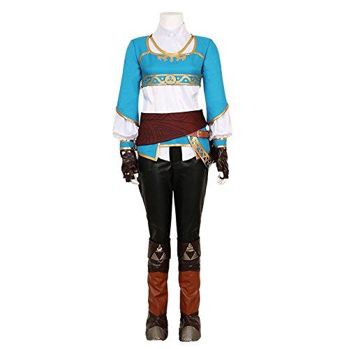 cosplay legend of zelda costumes - CG Costume Women's Suit Princess Zelda Costume Cosplay Outfit XLarge