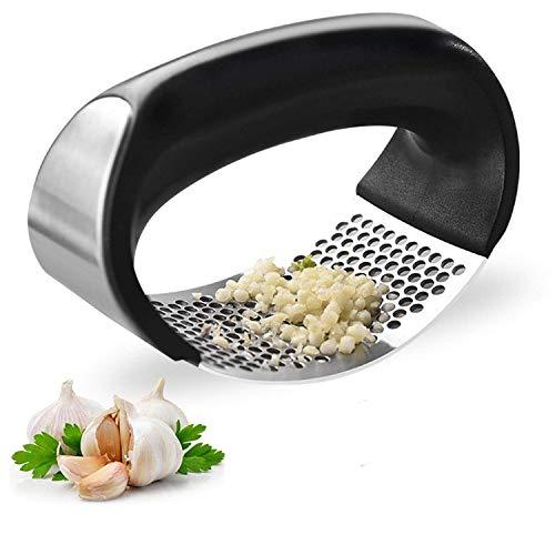 CARDEX-Garlic-Press-Rocker-Premium-Garlic-Press-Stainless-SteelEasy-Operate-and-Clean-Kitchen-Gadget