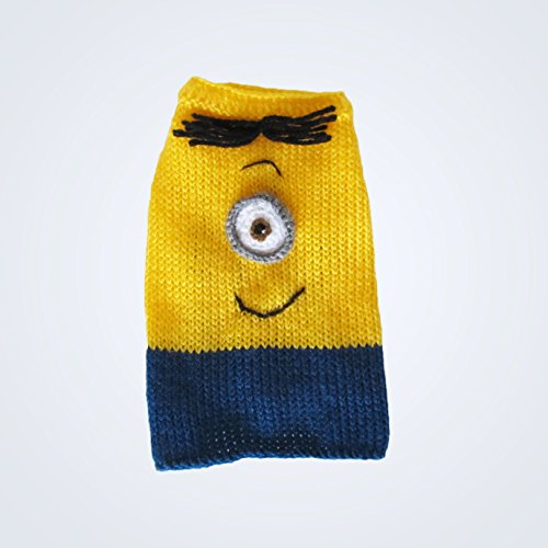 Medium Minion Dog Costume medium Dog Sweater M Puppy Costume