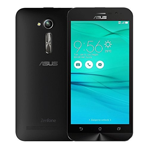 ASUS ZenFone Go ZB500KL 2GB RAM / 16GB ROM 5.0-Inch 4G LTE Dual SIM FACTORY UNLOCKED - International Stock No Warranty (CHARCOAL BLACK)