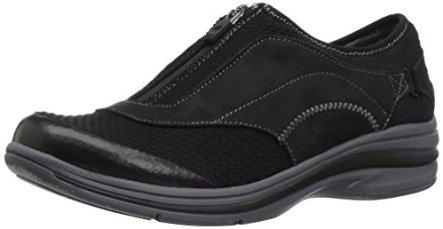 Dr. Scholl's Shoes Women's Wondrous Slip-on Loafer, Black Knit, 8 M US