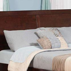 Atlantic Furniture Portland Headboard, Queen, Walnut