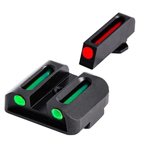 TRUGLO Fiber-Optic Front and Rear Handgun Sights...
