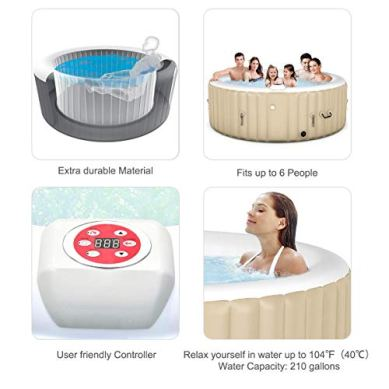 Goplus-4-6-Person-Outdoor-Spa-Inflatable-Hot-Tub-for-Portable-Jets-Bubble-Massage-Relaxing-with-Accessories-Set-4-Person-White