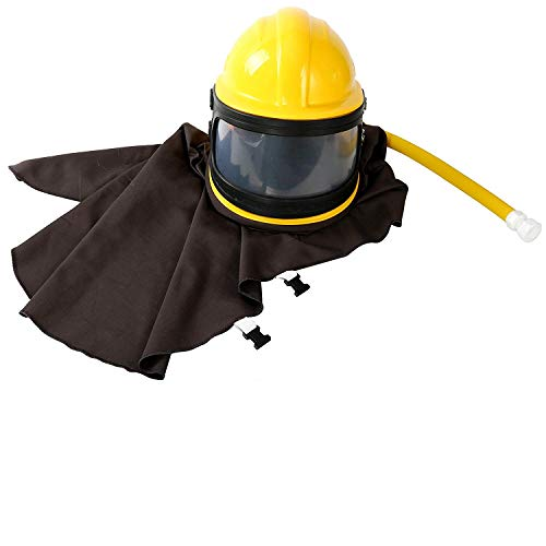 YaeKoo AIR Supplied Safety Sandblast Helmet Sandblasting Hood Protector