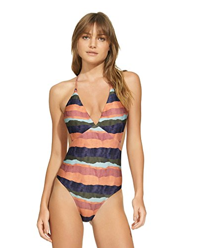 715AWlMbshL Designer: Vix Swimwear Collection: Bonaire Name: One Piece Plunge