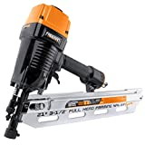 Freeman PFR2190 Pneumatic 21 Degree 3-1/2' Full Round Head Framing Nailer with Case Ergonomic and Lightweight Nail Gun with Interchangeable Trigger, Tool-Free Depth Adjust, and No Mar Tip