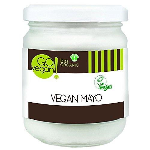 Go vegan Bio Organic Vegan Mayo 170g (Pack of 4)