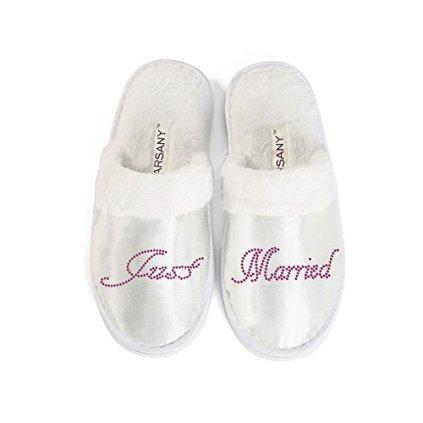 Rose-Varsany-Jeunes-Maris-Chaussons-pour-le-Spa-Enterrement-de-vie-de-Jeune-Fille-Strass-Diamante-chaussons-pour-htel