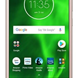Moto G6 with Alexa Hands-Free – 32 GB – Unlocked (AT&T/Sprint/T-Mobile/Verizon) – Oyster Blush – Prime Exclusive Phone