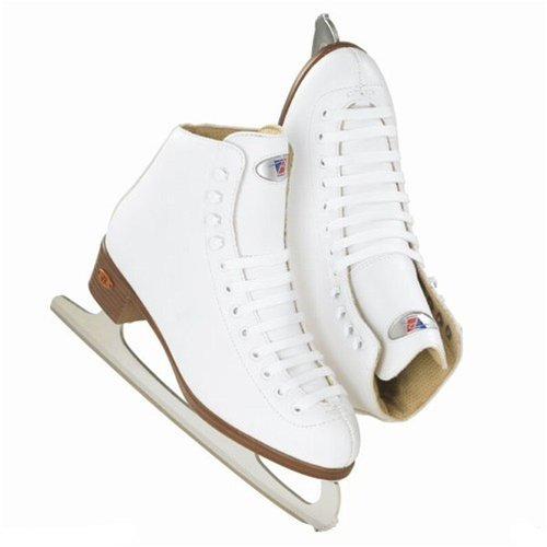 Riedell 10 - White Girls Figure Skate