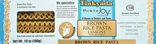 Tinkyada Brown Rice Lasagne w/ Rice Bran - 10 oz