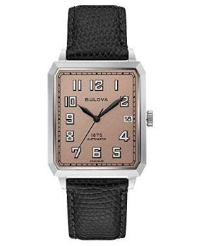 Bulova Breton Leather Automatic Watch 96B331 Limited Edition Joseph Bulova Collection