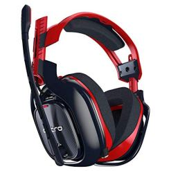 ASTRO Gaming A40 TR-X Edition Wired Gaming Headset for  PC, Xbox and PlayStation – Red/Blue