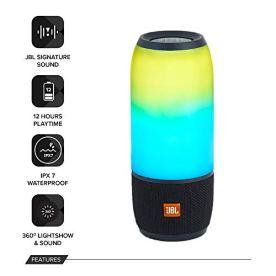 JBL-Pulse-3-Wireless-Bluetooth-IPX7-Waterproof-Speaker-Black