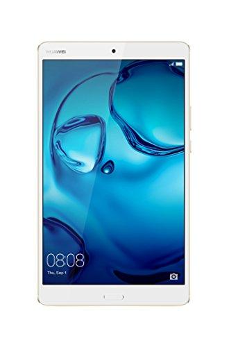 "Huawei + Harman Kardon MediaPad M3 8.0 Octa Core 8.4"" Android (Marshmallow) +EMUI Tablet, WiFi only, 64GB, Luxurious Gold (BTV-W09)"