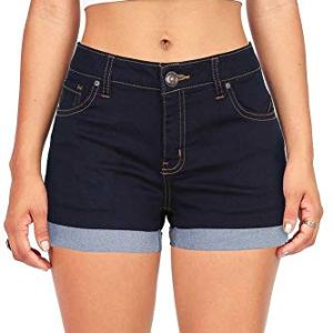 Wax Women's Juniors Mid-Rise Denim Shorts 10 Fashion Online Shop 🆓 Gifts for her Gifts for him womens full figure