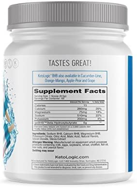 KetoLogic Keto BHB Exogenous Ketones Powder Supplement: Patriot Pop (60 Servings) - Boosts Ketosis, Increases Energy & Focus, Suppresses Appetite – Supports Keto Diet & Weight Management 4