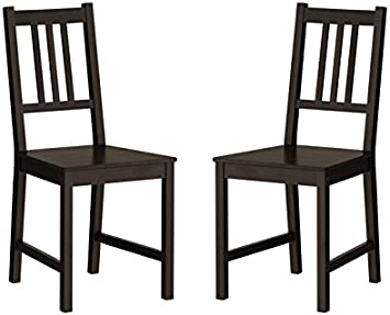 Amazon Com Ikea Wood Chairs Dining Room Kitchen Dinette 2 Chairs Chairs