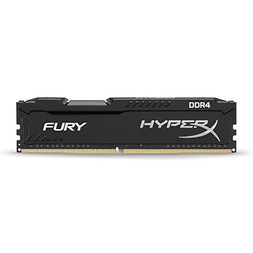 Kingston HyperX FURY Black 4GB 2133MHz DDR4 Non-ECC CL14 DIMM Desktop Memory (HX421C14FB/4)