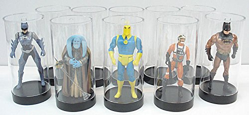 Protech Acrylic Cylinder Display Case for Star Wars, GI Joe and Other Qty of 10