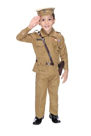 Smuktar Garments Police Costume For Kids (8 to 9 Years)