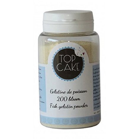 Top-cake gelatina di pesce in polvere 200 bloom-TopCake