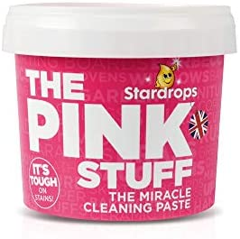 Stardrops - The Pink Stuff - The Miracle Cleaning Paste, Multi-Purpose Spray, And Bathroom Foam 3-Pack Bundle (1 Cleaning Paste, 1 Multi-Purpose Spray, 1 Bathroom Foam)
