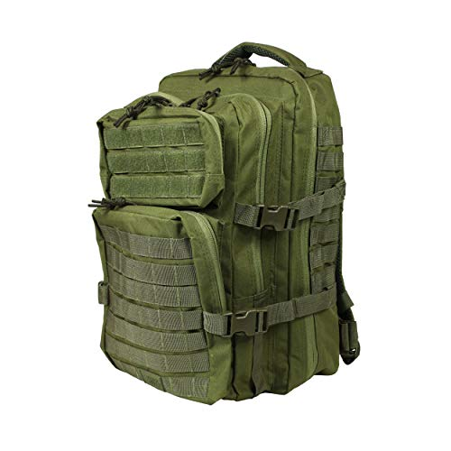 OSAGE RIVER Fly Fishing Backpack, Tackle and Rod Storage, Crocodile Green