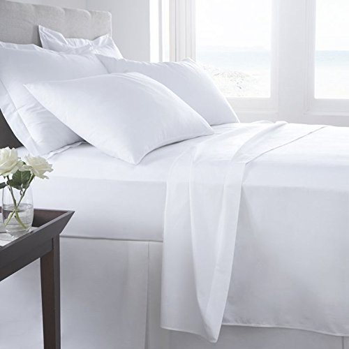 Thread Spread Hotel Collection 600 Thread Count Egyptian Cotton Sateen King 4 Piece Sheet Set White