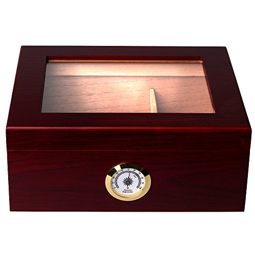Mantello 25-50 Cigar Desktop Humidor