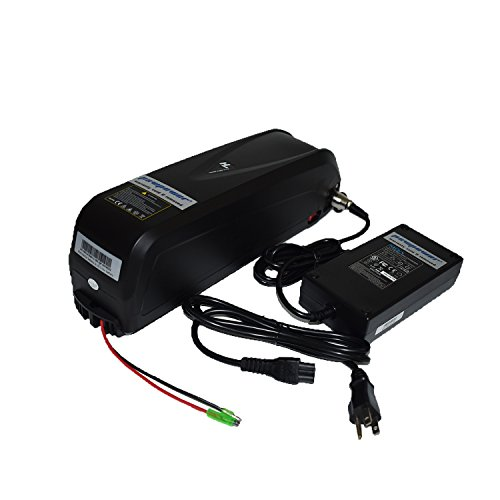 Pswpower 48V 13Ah Ebike Battery made of LG LGEBM261865 + 54.6V 2A Charger, Li-ion Battery for Electric Bike Scooters Bicycle Electric Tricycle, fits 250W/350W/500W/750W/1000W Motor (USA Warehouse)