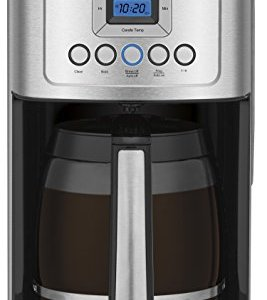 Cuisinart DCC-3200P1 Perfectemp Coffee Maker, 14 Cup Progammable with Glass Carafe, Stainless Steel 5