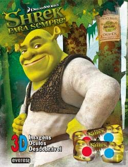 Shrek 4 - Para Sempre! Livro 3D