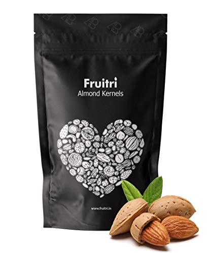 41sfJLEqW L - Fruitri Premium California Almonds, 100% Natural Badam Giri (250gm)