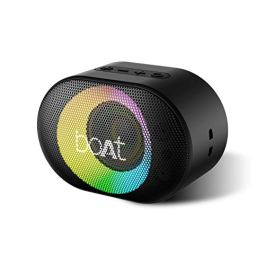 boAt Stone 250 with 5W, AUX, IPX7, Playback time of 8 Hours (Black)