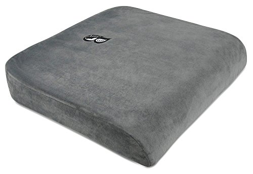 Bonsai Wellness XL Therapeutic Grade Bariatric Seat Cushion Great for users up to 500 Pounds Dense Firm Back Tailbone