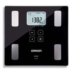 Omron-Body-Composition-Monitor-and-Scale-with-Bluetooth-Connectivity--6-Body-Metrics-Unlimited-Reading-Storage-with-Smartphone-App-by-Omron-Black