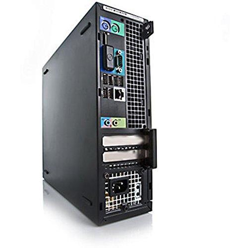 Dell OptiPlex 790 SFF Quad Core i5-2400 8GB 240GB SSD DVD WiFi Windows 10 Professional Desktop PC Computer (Renewed)
