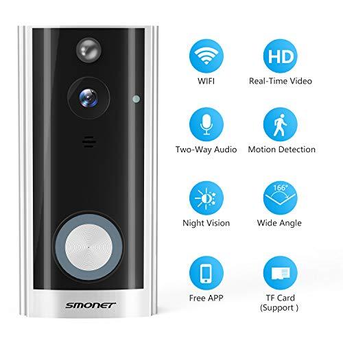 SMONET Smart Doorbell Wireless